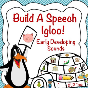 Articulation Winter Craftivity: Build A Speech Igloo!  Ear