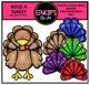 Build A Turkey Clip Art Bundle