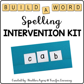 Build-A-Word Intervention Kit