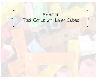 Build Addition Task Cards