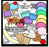 Build An Ice Cream Clip Art