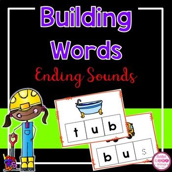 Building Words - Missing Ending Sounds