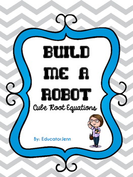 Build Me a Robot Cubic Root Equations