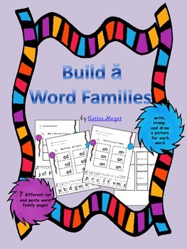Build Short a Word Families