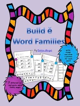 Build Short e Word Families