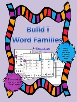 Build Short i Word Families