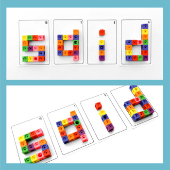 Build Sight Words with Connecting Cubes