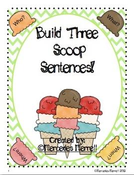 Build Three Scoop Sentences!
