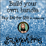 Build Your Own Bundle! Sapphire Level- Pay $40 for $50 of