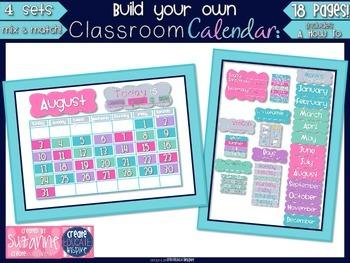 Build Your Own Classroom Calendar