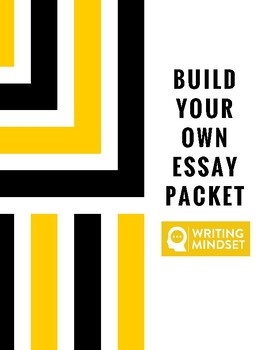 Build Your Own Essay Packet! 23 Pages-ANY GENRE OF WRITING