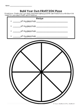 Build Your Own FRACTION Pizza