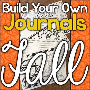 Build Your Own Journal - Autumn/Fall, Halloween, Thanksgiv