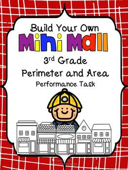 Build Your Own Mini-Mall-Perimeter and Area Task-3rd Grade
