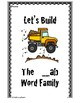 Build Your Own Word A and E Families