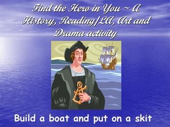 Build a Boat~Put on a Skit Using Find the Hero in You~Colu