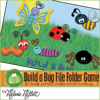 Build a Bug File Folder Game