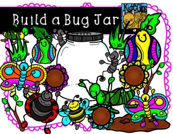 Build a Bug Jar Insect Bug Clip Art Kid-E-Clips Personal a