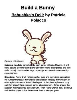 Build a Bunny Babushka's Doll by Patricia Polacco