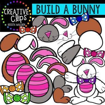 Build a Bunny {Creative Clips Digital Clipart}