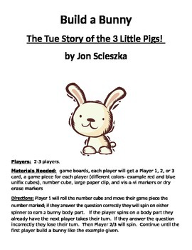 Build a Bunny: The True Story of the 3 Little Pigs! by Jon