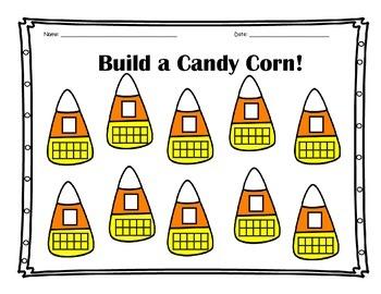 Build a Candy Corn Recording Sheet