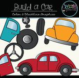 Build a Car - Digital Clipart