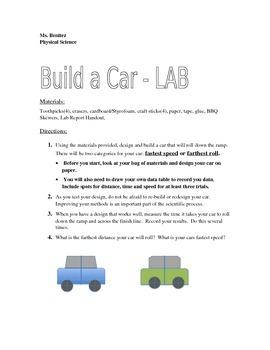 Build a Car-Speed Unit