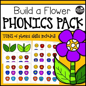 Build a Flower Phonics Pack