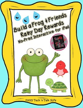 Build a Frog & Friends  - Rainy Day Rewards