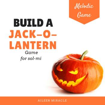 Build a Jack-o-Lantern Melodic Game {Sol-Mi}