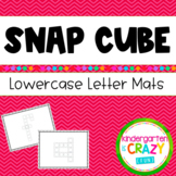 Build-a-Letter Fine Motor Lowercase Alphabet Snap Cubes Li