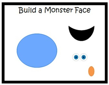 Build a Monster Face for Early Learners