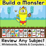 Beginning of the Year Review Game: Build a Monster - Compu
