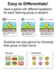 Review Game for any Subject: Build a Monster - Test Prep S