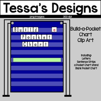 Build a Pocket Chart Clipart