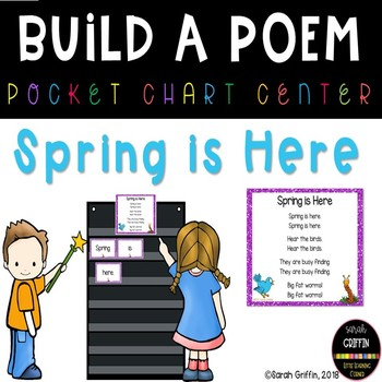 Build a Poem ~ Spring is Here