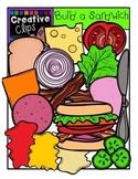 Build a Sandwich {Creative Clips Digital Clipart}