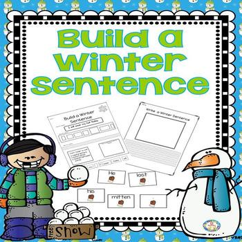 Building Sentences Winter