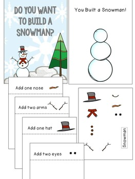 Build a Snowman Adapted Book