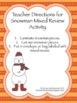 Build a Snowman - Addition Facts - Mixed Review (1-20)