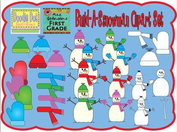 Build a Snowman - Graphics for Commercial Use