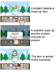 Winter Math Build a Snowman Addition and Subtraction Game