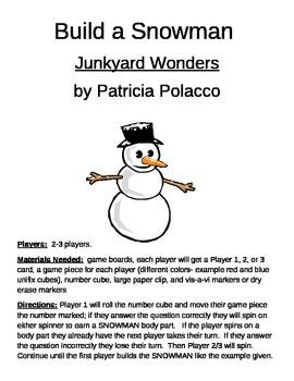Build a Snowman Junkyard Wonders by Patricia Polacco