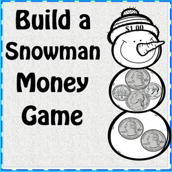 Build a Snowman Money Game