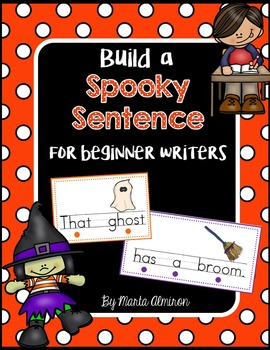 Build a Spooky Sentence for Beginning Writers
