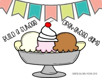 Build a Sundae Open-Ended Game