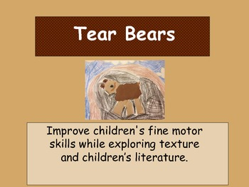 Build a Tear Bear