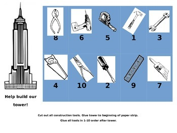 Build a Tower 1-10