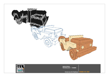 Build a Toy - Timber Jeep